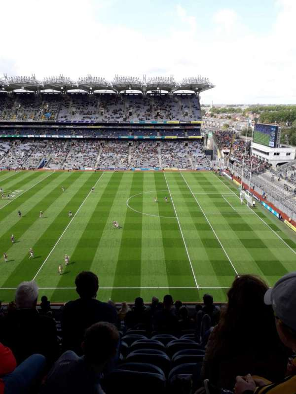Croke Park, section: 702, row: M, seat: 33