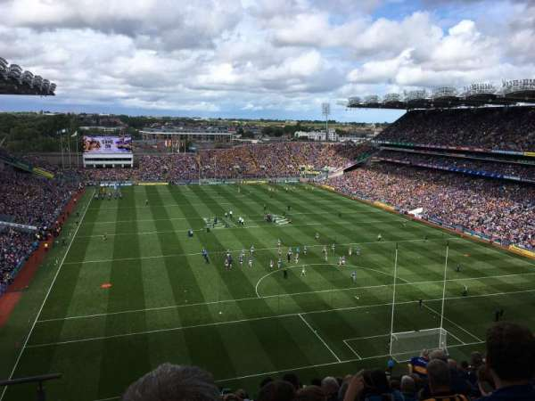 Croke Park, section: 721, row: M, seat: 14