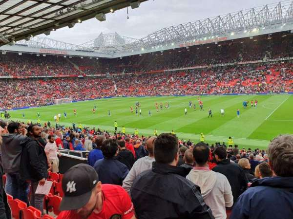 Old Trafford, section: STH 128, row: 24, seat: 37