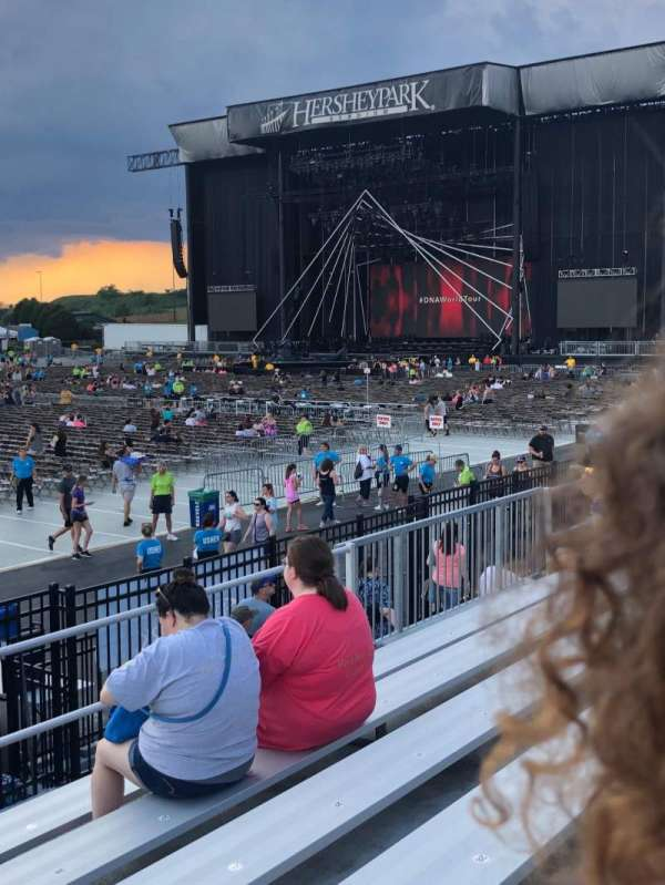 Hershey Park Stadium, section: 27, row: A, seat: 33