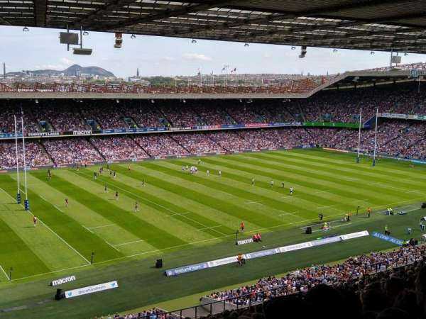 Murrayfield Stadium, section: W38, row: PP, seat: 2
