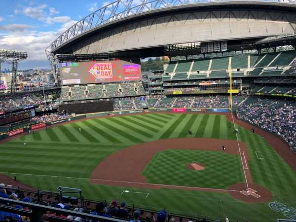 T-Mobile Park, section: 335, row: 10, seat: 3