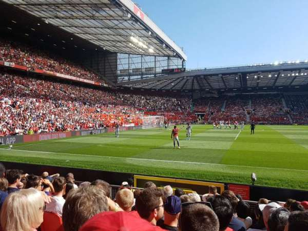 Old Trafford, section: 1404, row: KK, seat: 227