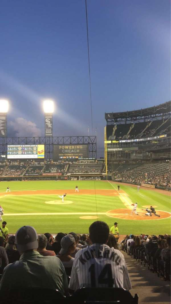 Guaranteed Rate Field, section: 137, row: 28, seat: 1