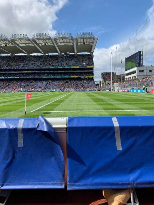 Croke Park, section: 301, row: A, seat: 22