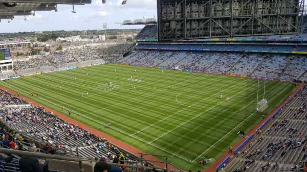 Croke Park, section: 725, row: S, seat: 10