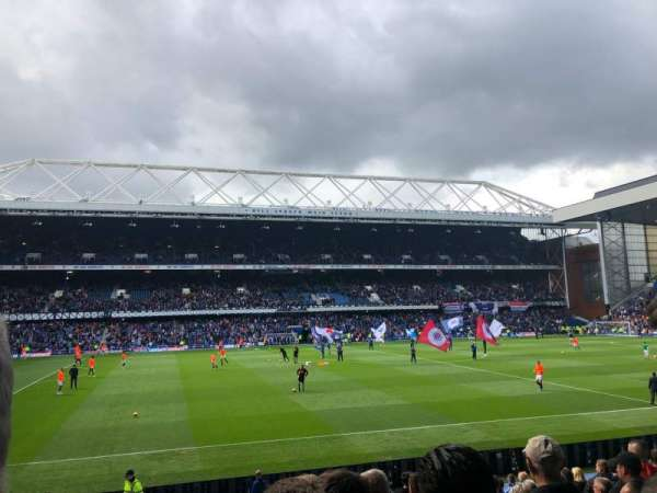 Ibrox Stadium, section: GF6, row: R, seat: 174