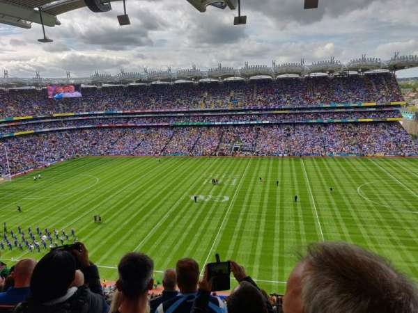 Croke Park, section: 704, row: Q, seat: 24