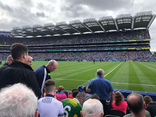 Croke Park, section: 302, row: F, seat: 9