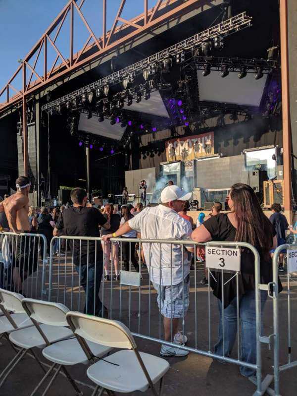 Providence Medical Center Amphitheater, section: 2, row: J, seat: 1