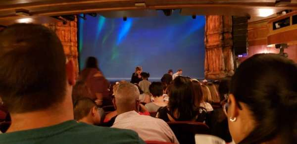 St. James Theatre, section: Orchestra R, row: R, seat: 10