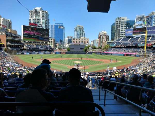 PETCO Park, section: PCF, row: 12, seat: 1