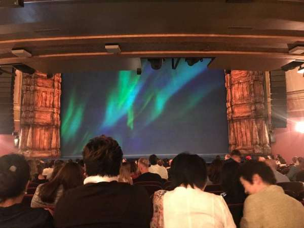 St. James Theatre, section: Orchestra C, row: P, seat: 103