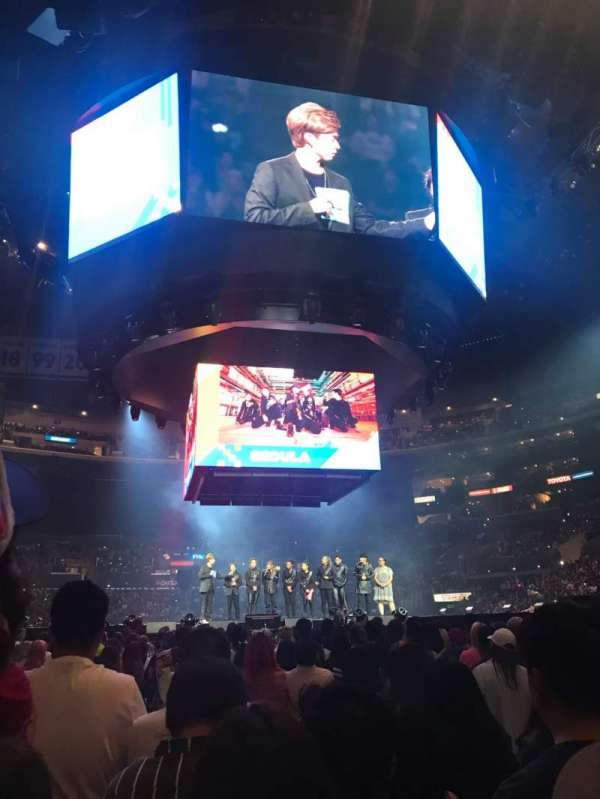 Staples Center, section: GA