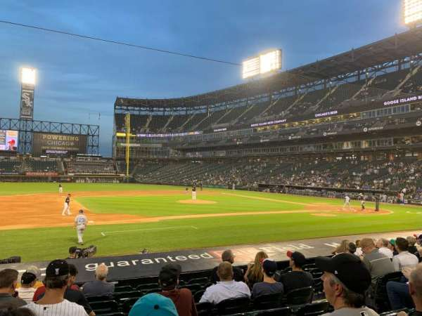 Guaranteed Rate Field, section: 141, row: 13, seat: 7