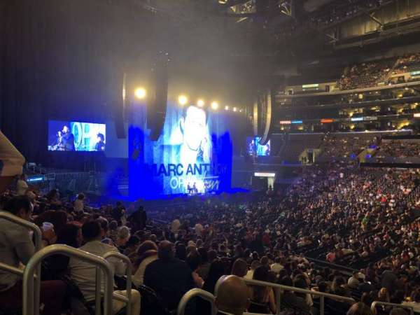 Staples Center, section: 110, row: 20, seat: 18