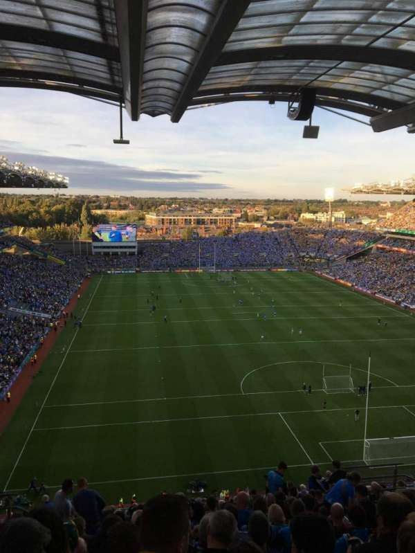 Croke Park, section: 721, row: T, seat: 9
