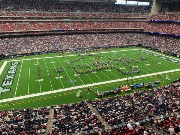 NRG Stadium, section: 537, row: G, seat: 4