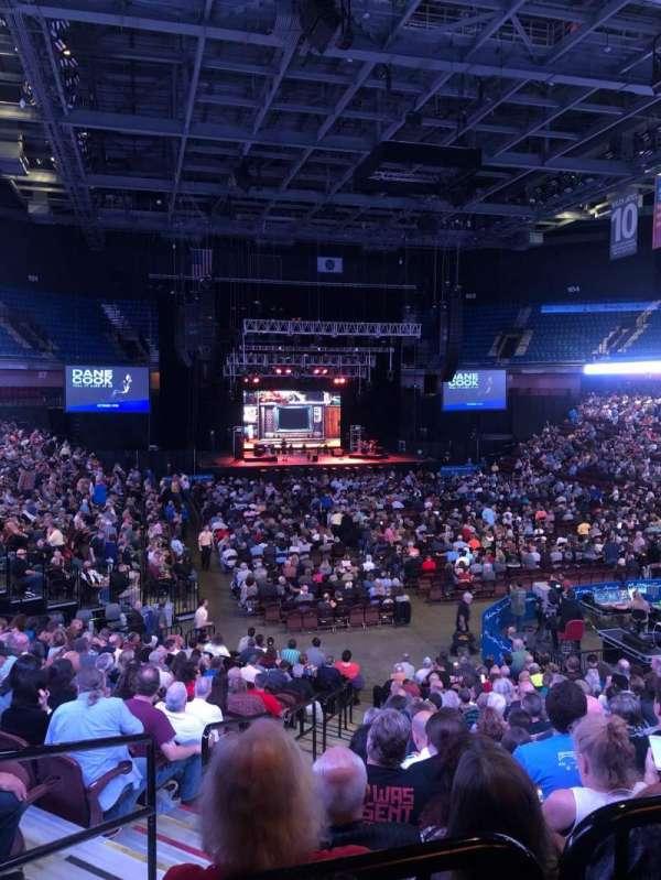 Mohegan Sun Arena, section: 21, row: T, seat: 18