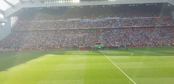 Anfield, section: KK, row: 14, seat: 136