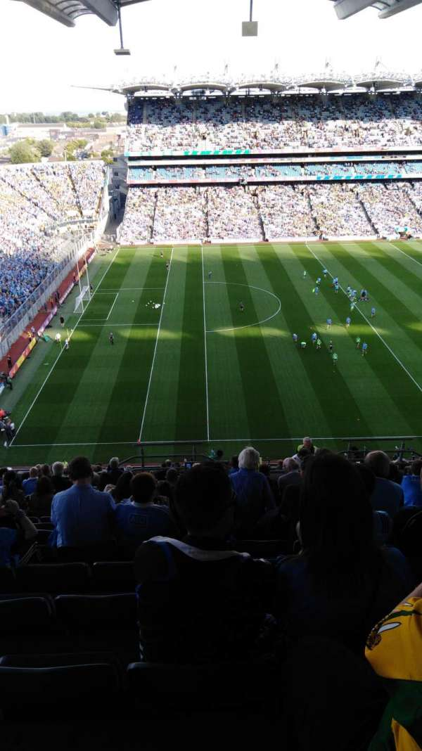 Croke Park, section: 735, row: U, seat: 22