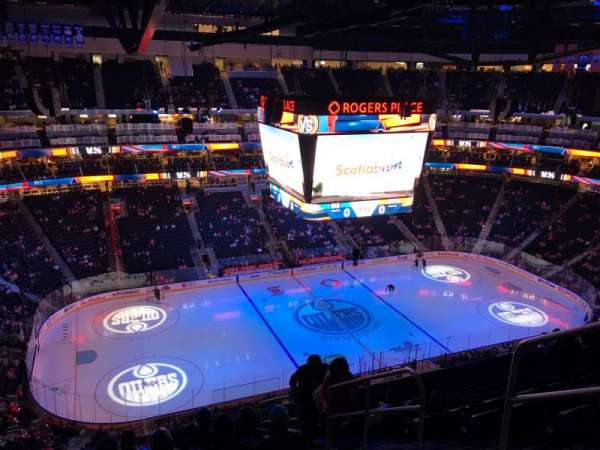 Rogers Place, section: 222, row: 10, seat: 4