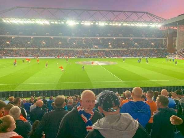 Ibrox Stadium, section: Sandy Jardine Front, row: U, seat: 138
