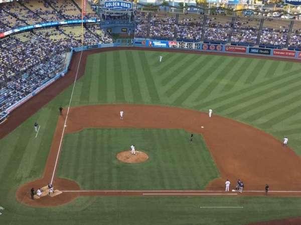 Dodger Stadium, section: 10TD, row: J, seat: 18