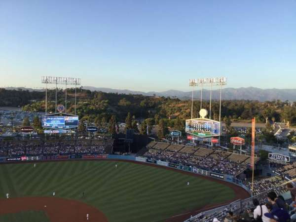 Dodger Stadium, section: 10TD, row: J, seat: 16