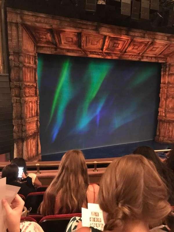 St. James Theatre, section: Mezzanine L, row: D, seat: 11
