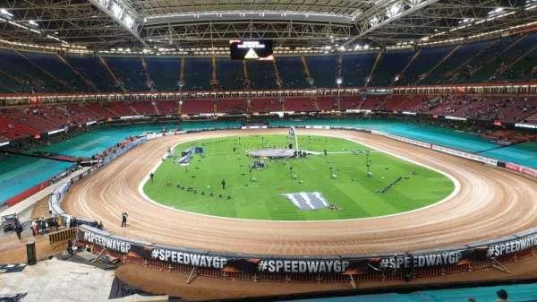 Principality Stadium, section: UN3, row: 21, seat: 23