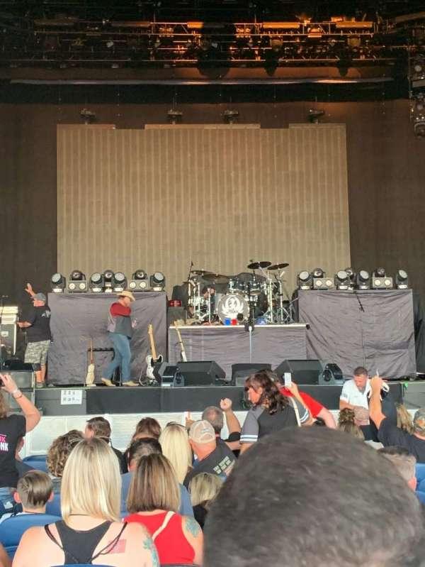 PNC Music Pavilion, section: 2, row: N, seat: 19