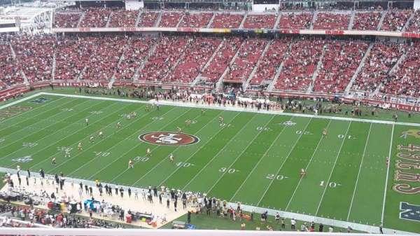 Levi's Stadium, section: 408, row: 2, seat: 13