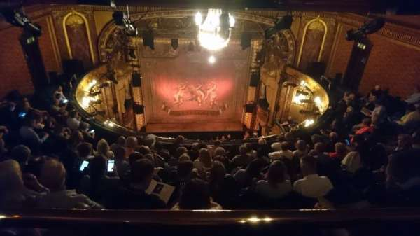 Theatre Royal Haymarket, section: Gallery, row: A, seat: 11