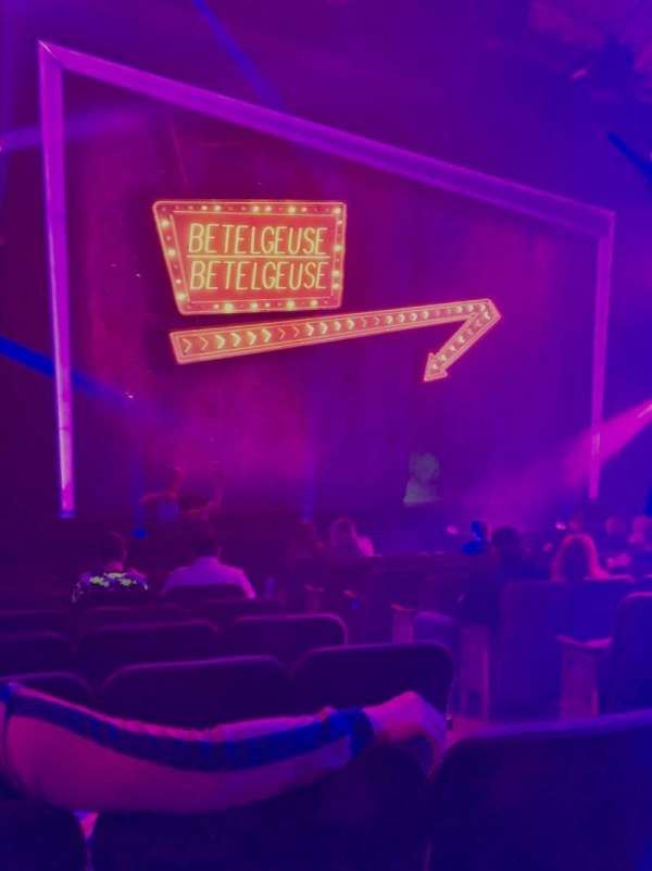 Winter Garden Theatre, section: Orchestra L, row: K, seat: 5