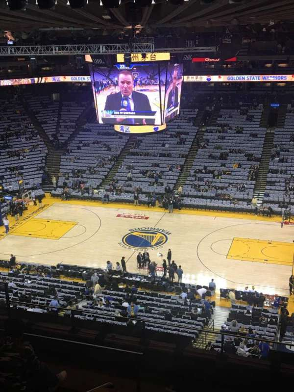 Oakland Arena, section: 231, row: 7, seat: 8