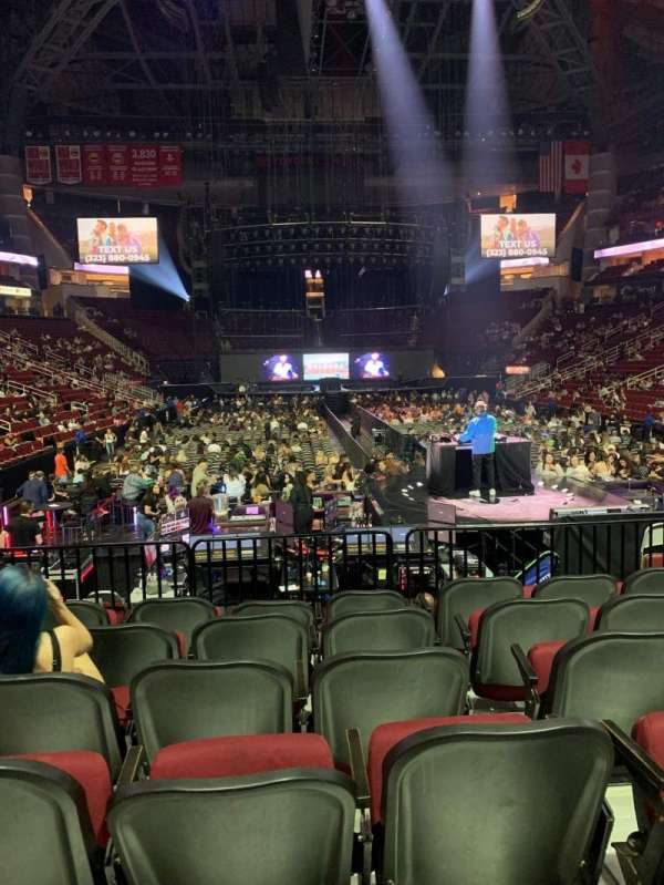 Toyota Center, section: 114, row: 9, seat: 6