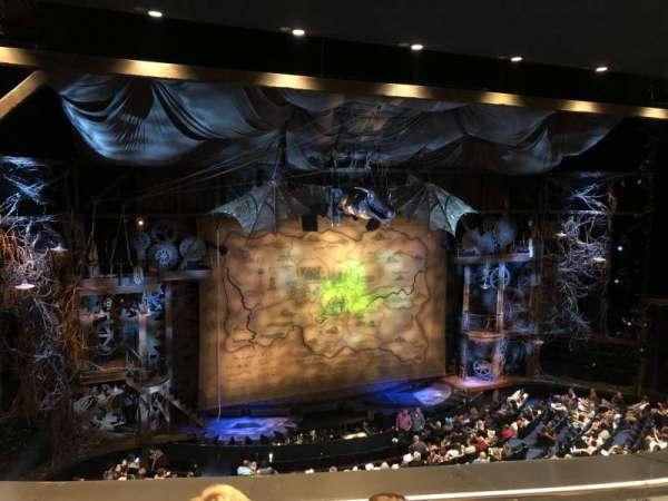 Gershwin Theatre, section: Front Mezzanine L, row: C, seat: 9