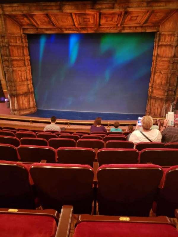 St. James Theatre, section: Mezzanine C, row: H, seat: 101