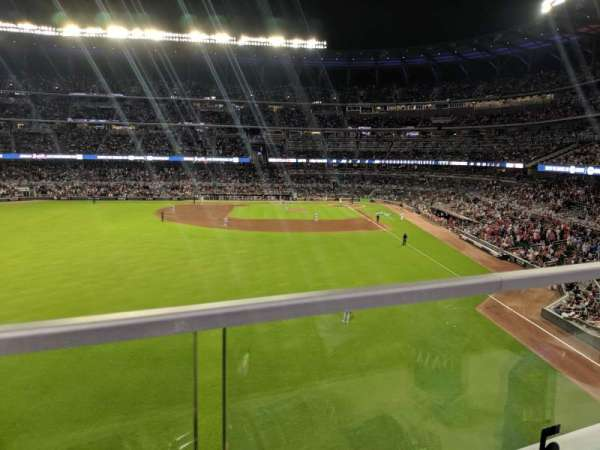 Truist Park, section: 246, row: 1, seat: 5