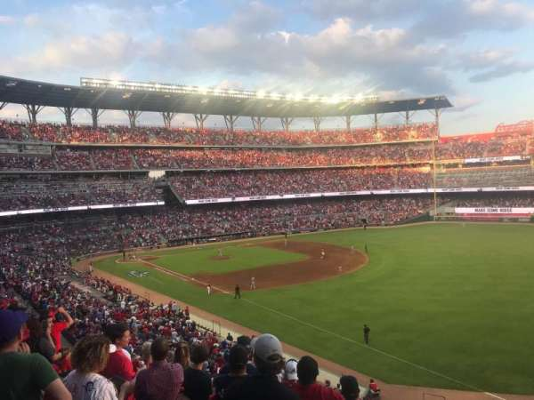 Truist Park, section: 212, row: 8, seat: 22