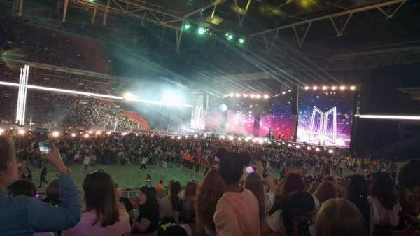 Wembley Stadium, section: 101, row: 20, seat: 45