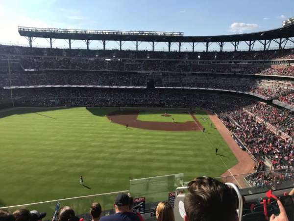 Truist Park, section: 347, row: 6, seat: 3