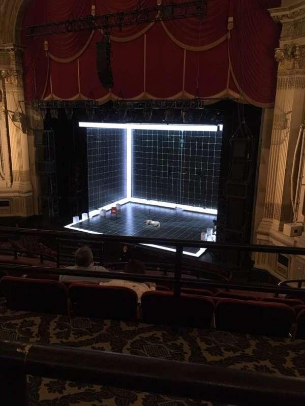Citizens Bank Opera House, section: Mezzanine R, row: A, seat: 14