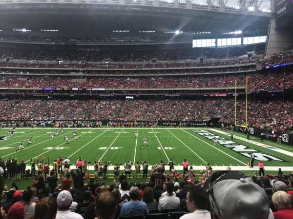 NRG Stadium, section: 124, row: U, seat: 5