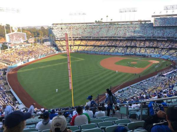 Dodger Stadium, section: 53RS, row: HH, seat: 4
