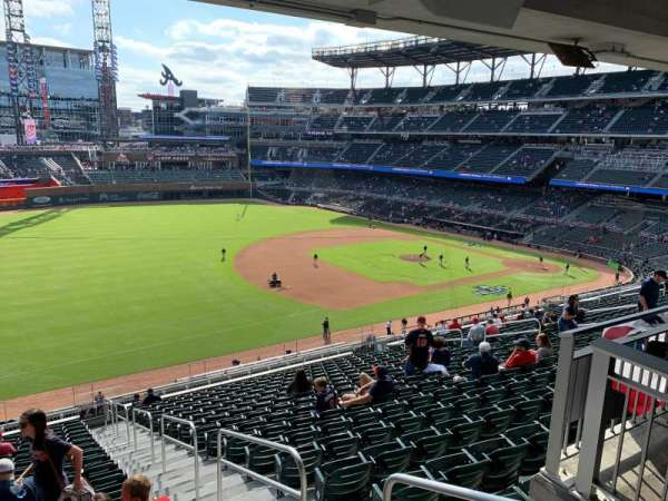Truist Park, section: 239, row: 17, seat: 1