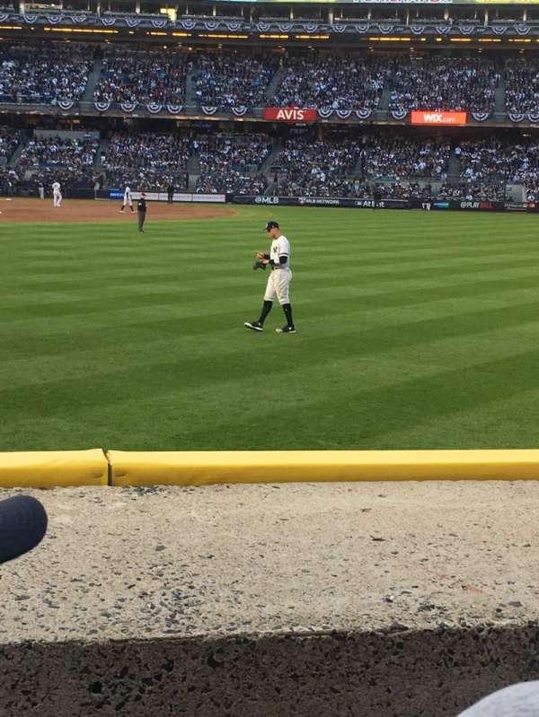 Yankee Stadium, section: 104, row: 2, seat: 15