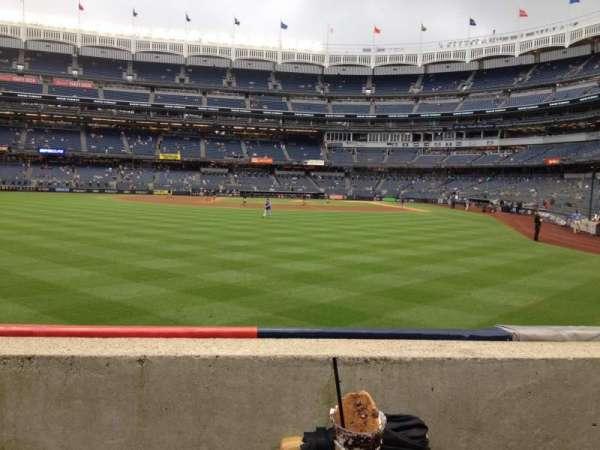 Yankee Stadium, section: 135, row: 1