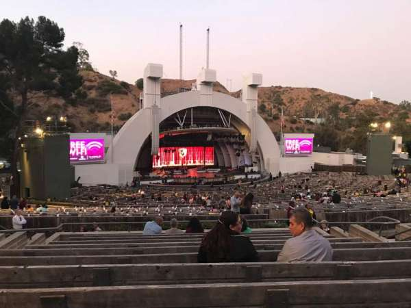Hollywood Bowl, section: K1, row: 11, seat: 18
